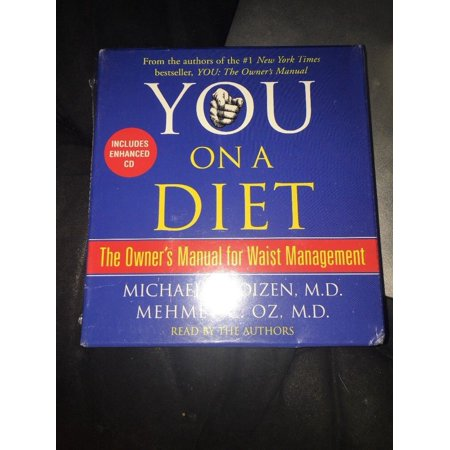 Audio Book New 5 CD You On a Diet.The owner