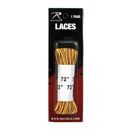 Rothco 6158 72'' Nylon Work Boot Laces For Military and Tactical Boots,