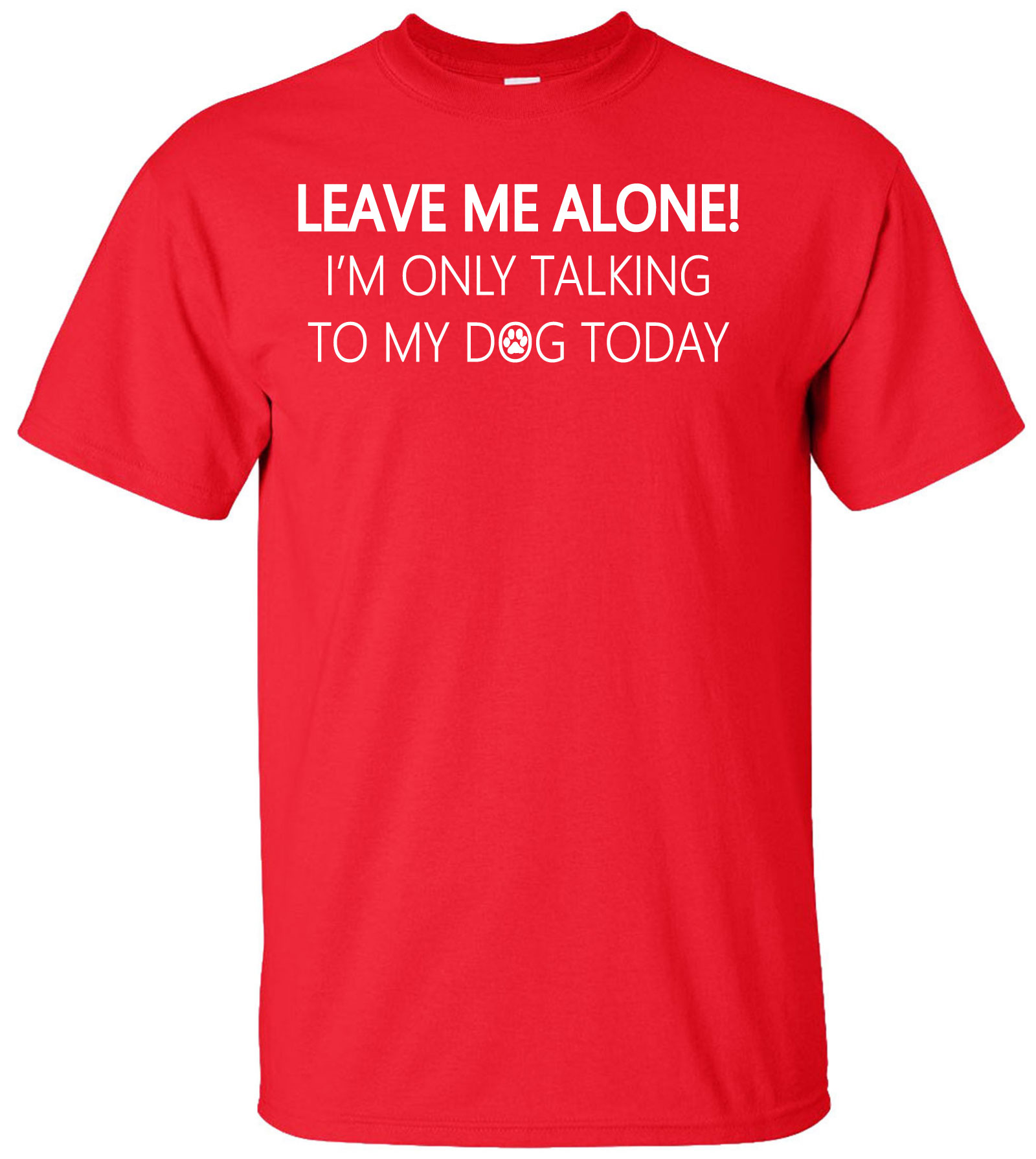 I/'m Only Speaking To My FERRET Today Funny T-Shirt Leave Me Alone