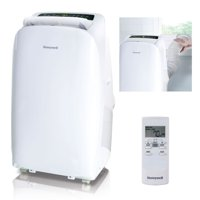 Honeywell HL14CESWW 14,000 BTU 115V Portable Air Conditioner for Rooms Up To 550 Sq. Ft. with Dehumidifier & Fan