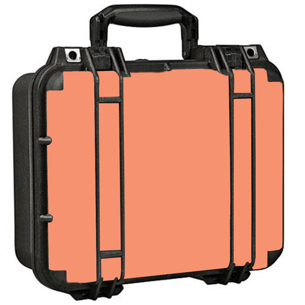 Skins Decals For Pelican 1400 Case / Solid Peach