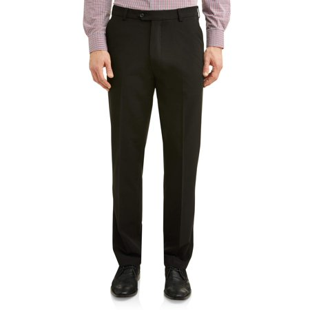 Flat Front Stretch Suit (George Men's Premium Comfort Stretch Flat Front Suit)