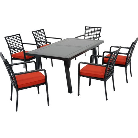 Meadow Decor Melrose 48 Piece Dining Set With Cushions Walmart Stunning Abf Furniture Decor