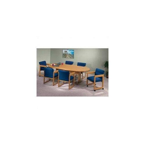 Lesro Contemporary Oval Conference Table