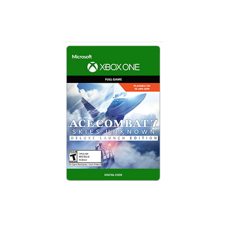 Ace Combat 7 Deluxe , Bandai Namco, Xbox, [Digital (Best Combat Games For Xbox One)