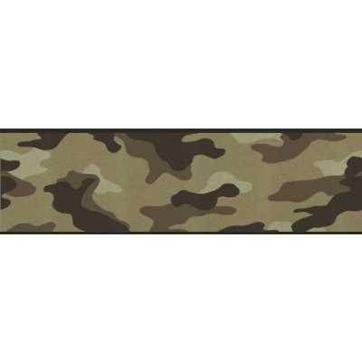 Camouflage camo wallpaper wall border desert for Camo wallpaper for walls