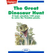 Great Dinosaur Hunt, The - Audiobook