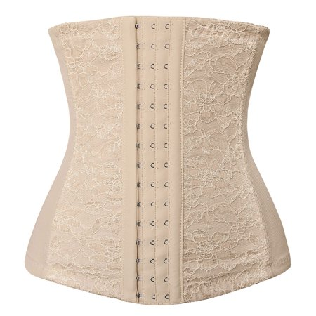 56abd974b47 Charmian - Charmian Women s Lace Underbust Waist Training Steel Boned  Shapewear Corset - Walmart.com