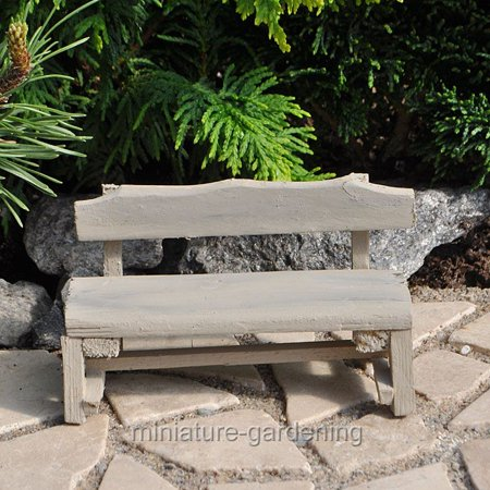 Excellent Miniature Farm Bench For Miniature Garden Fairy Garden Ibusinesslaw Wood Chair Design Ideas Ibusinesslaworg