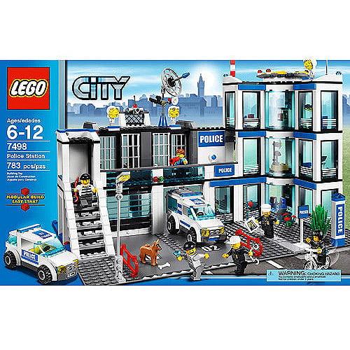 Lego City Police Station Play Set Walmart Com Walmart Com