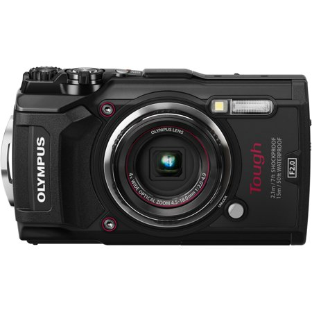 Olympus Tough TG-5 Compact Camera - Black (Digital Camera Waterproof Olympus)