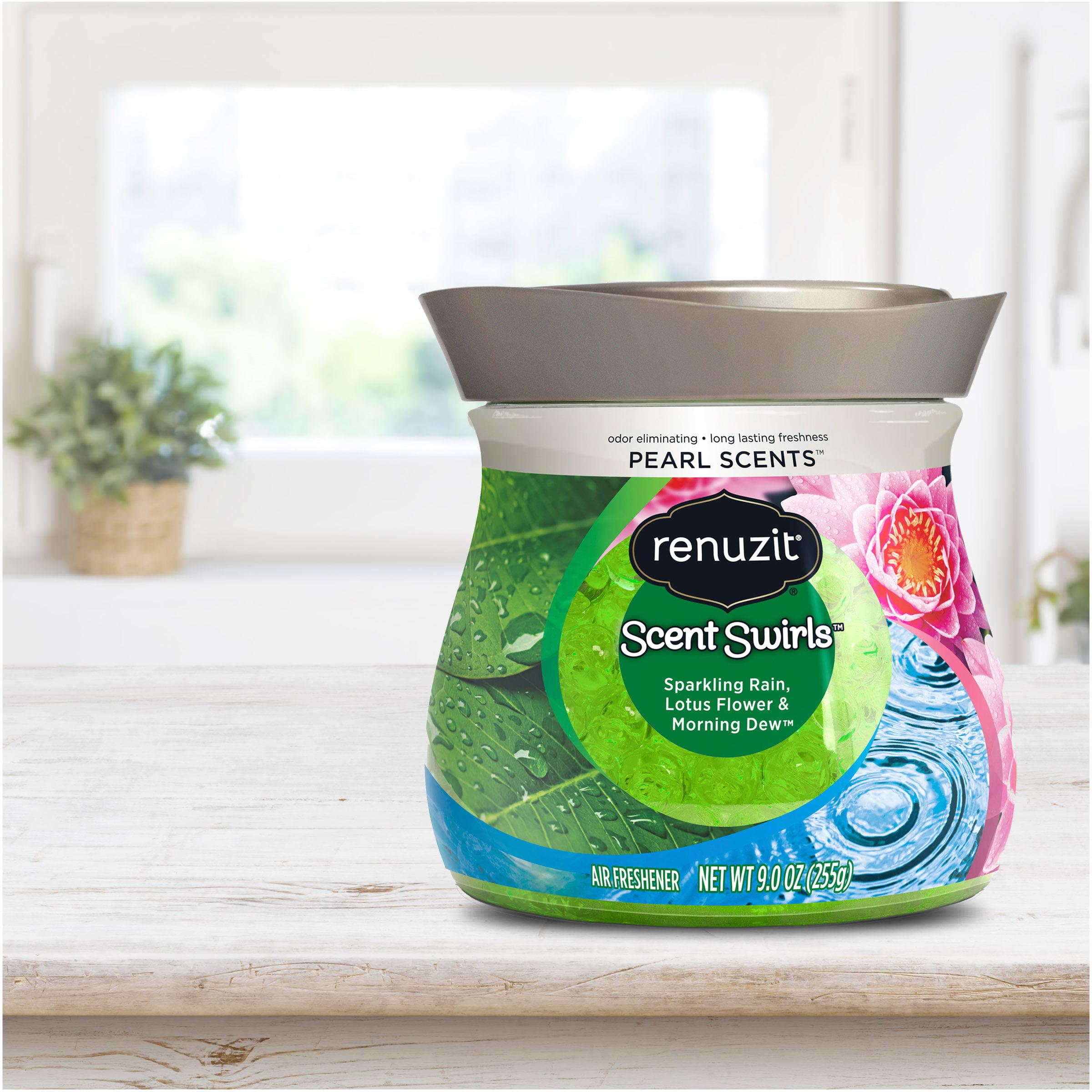 Renuzit Pearl Scents Air Freshener Sparkling Rain Lotus Flower