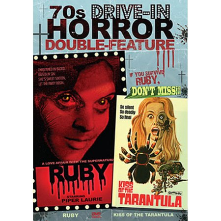 70s Drive-In Horror Double Feature: Ruby & Kiss Of The Tarantula (DVD)