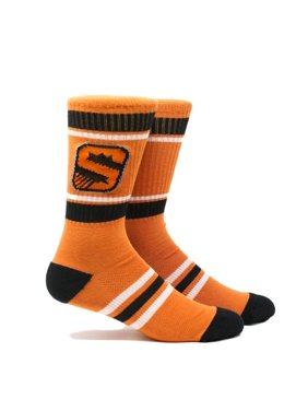 Phoenix Suns Stripe Crew Socks - Orange