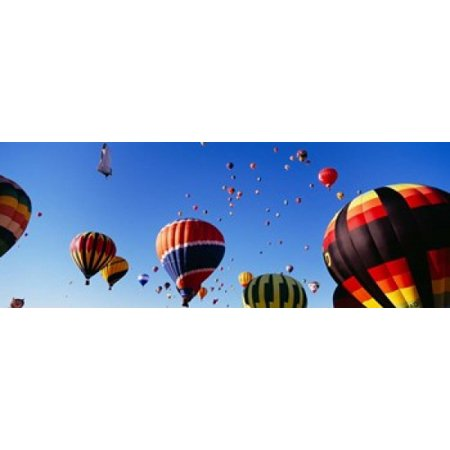 International Balloon Festival Albuquerque New Mexico Stretched Canvas - Panoramic Images (33 x (Albuquerque New Mexico Mall)
