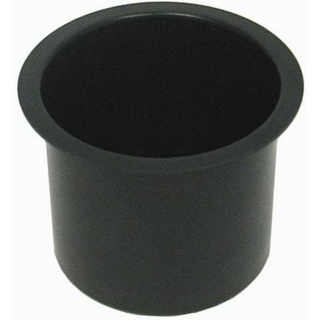 Poker Cup Holders - Trademark Poker Jumbo Aluminum Black Poker Table Cup Holders Set, Of 10