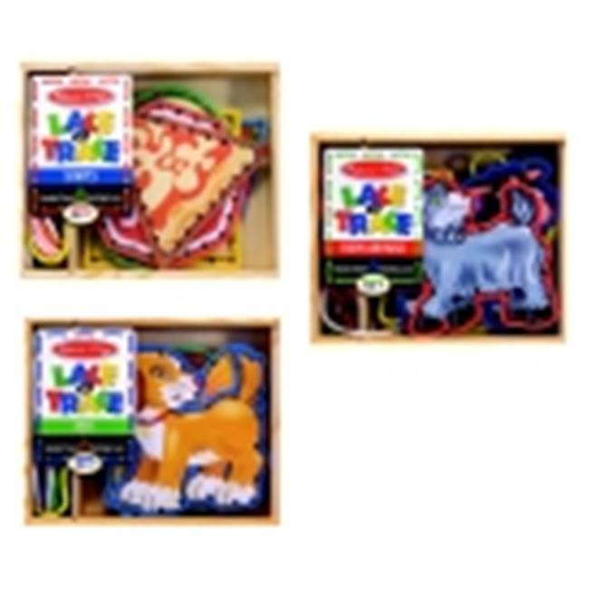 Childcraft Lacing Panel, Set - 3