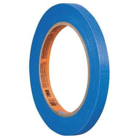 "3M Masking Tape,Paper,Blue,1/8"" 2080"