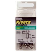 18 Pack Short Stainless-steel Rivets, FPC, FPC62SS