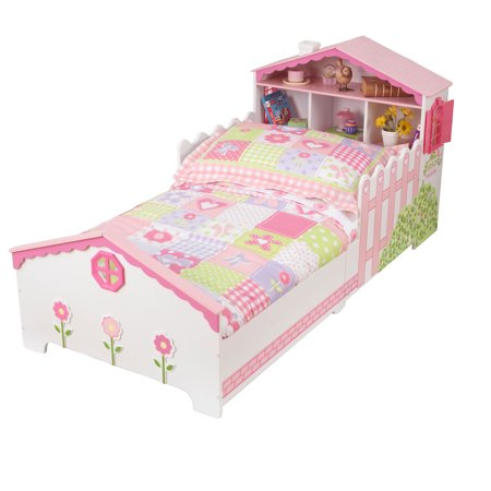 KidKraft Dollhouse Toddler Bed Image 1