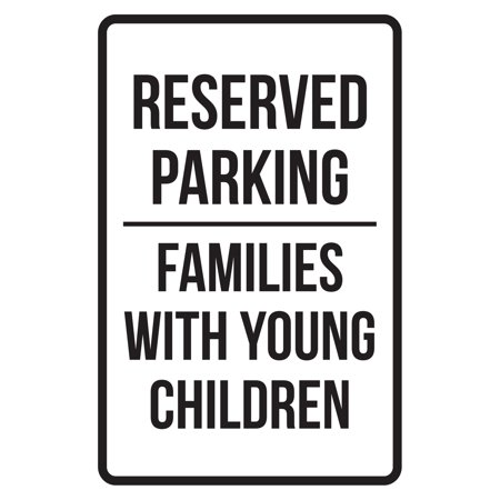 Reserved Parking Families With Young Children Business