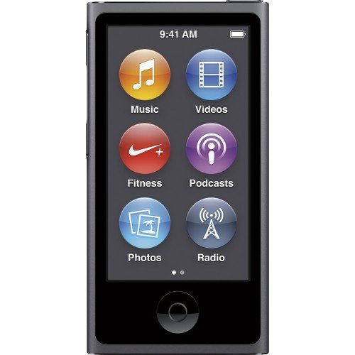 Apple 16GB iPod nano (Space Gray, 7th Generation, 2015 Mo...