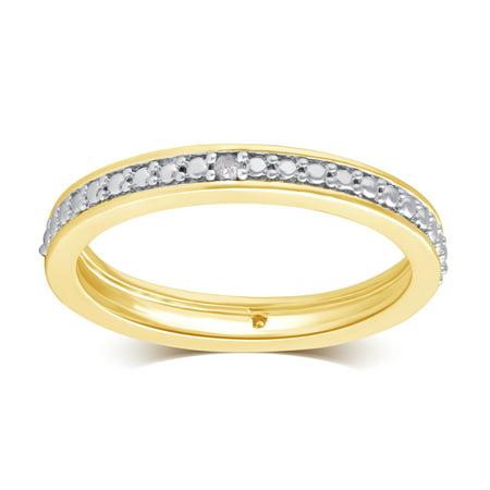 Diamond Accent Band Wedding - Diamond Accent Band Ring