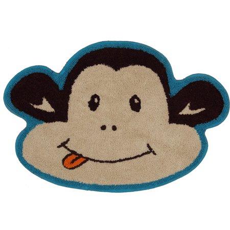 Mainstays Monkey Decorative Bath Collection Bath Rug