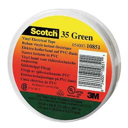 3M Scotch 35 Electrical Tape, 7 mil, 1/2