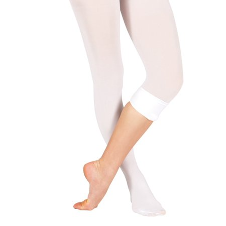 Ballet Tights (Adult Convertible Tights with Smooth Self-Knit Waistband)