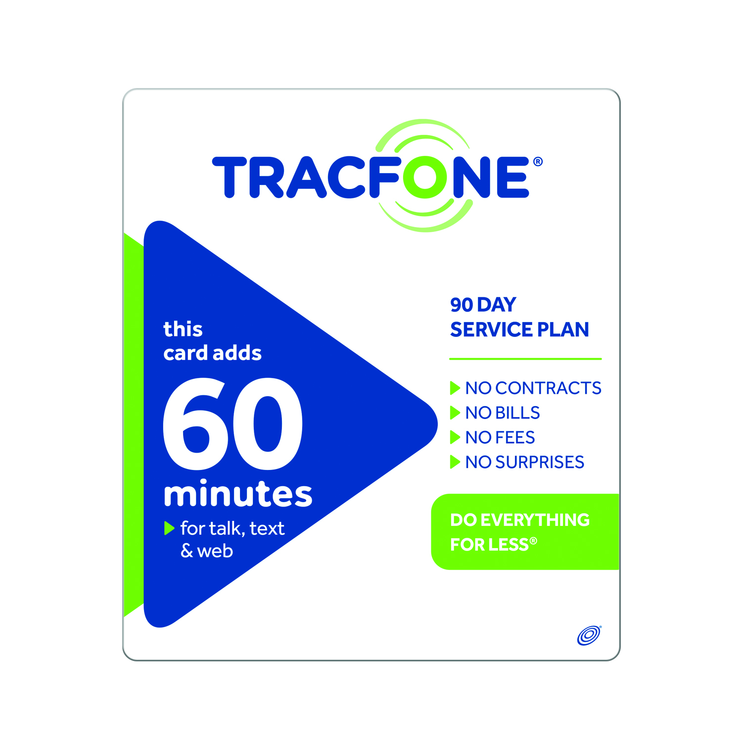 (Email Delivery) TracFone 60 Minute/90 days $19.99