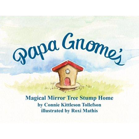 Papa Gnome's Magical Mirror Tree Stump