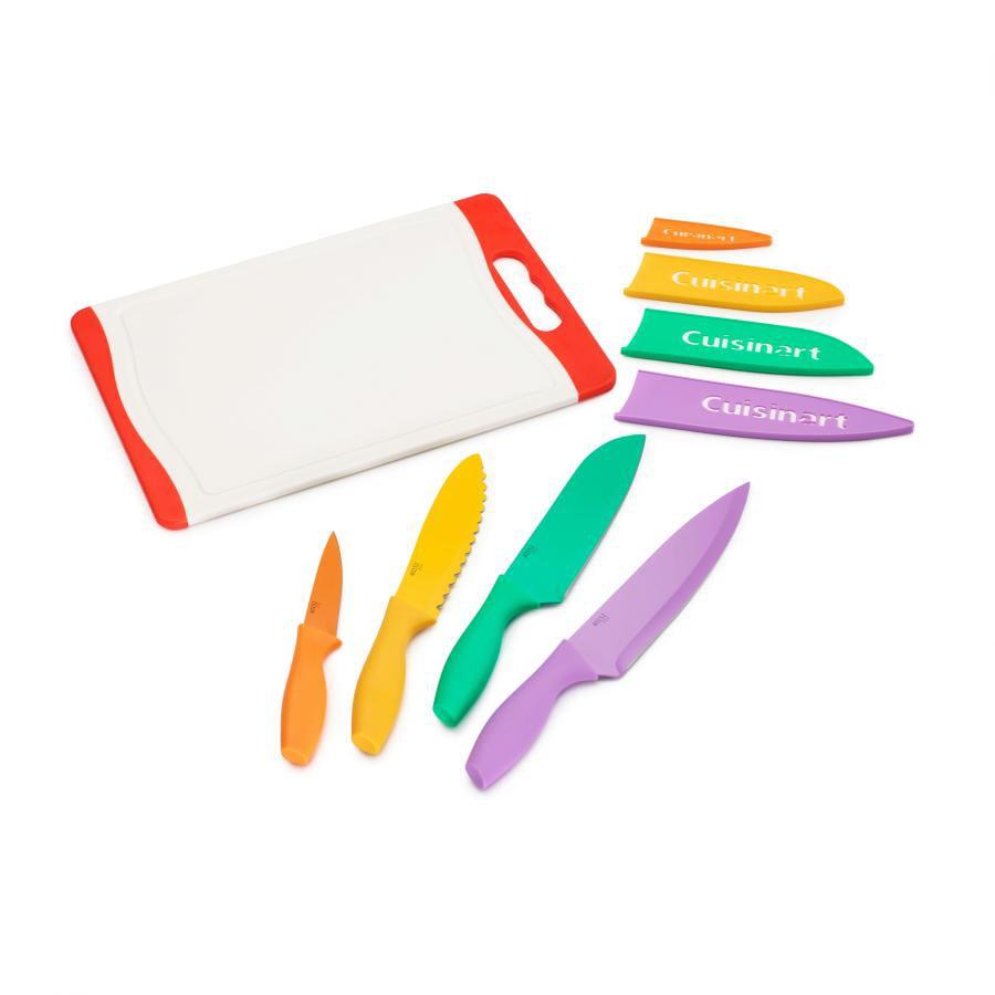 Cuisinart 9 Piece Cutting Board Set, Multicolor
