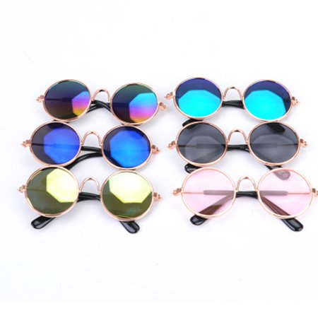 Fashion Cat's Glasses Durable Glasses Cat's Grooming Dogs Sunglasses Cool Glasses Universal Pet Supplies - image 3 of 3