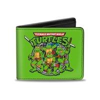 TMNT Cartoon TV Series Classic Turtles Logo Bi-Fold Wallet