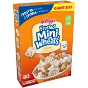 Kellogg's Frosted Mini Wheats Giant Breakfast Cereal, 36 Oz
