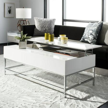 Safavieh Carolina Contemporary Lift-Top Coffee Table, White