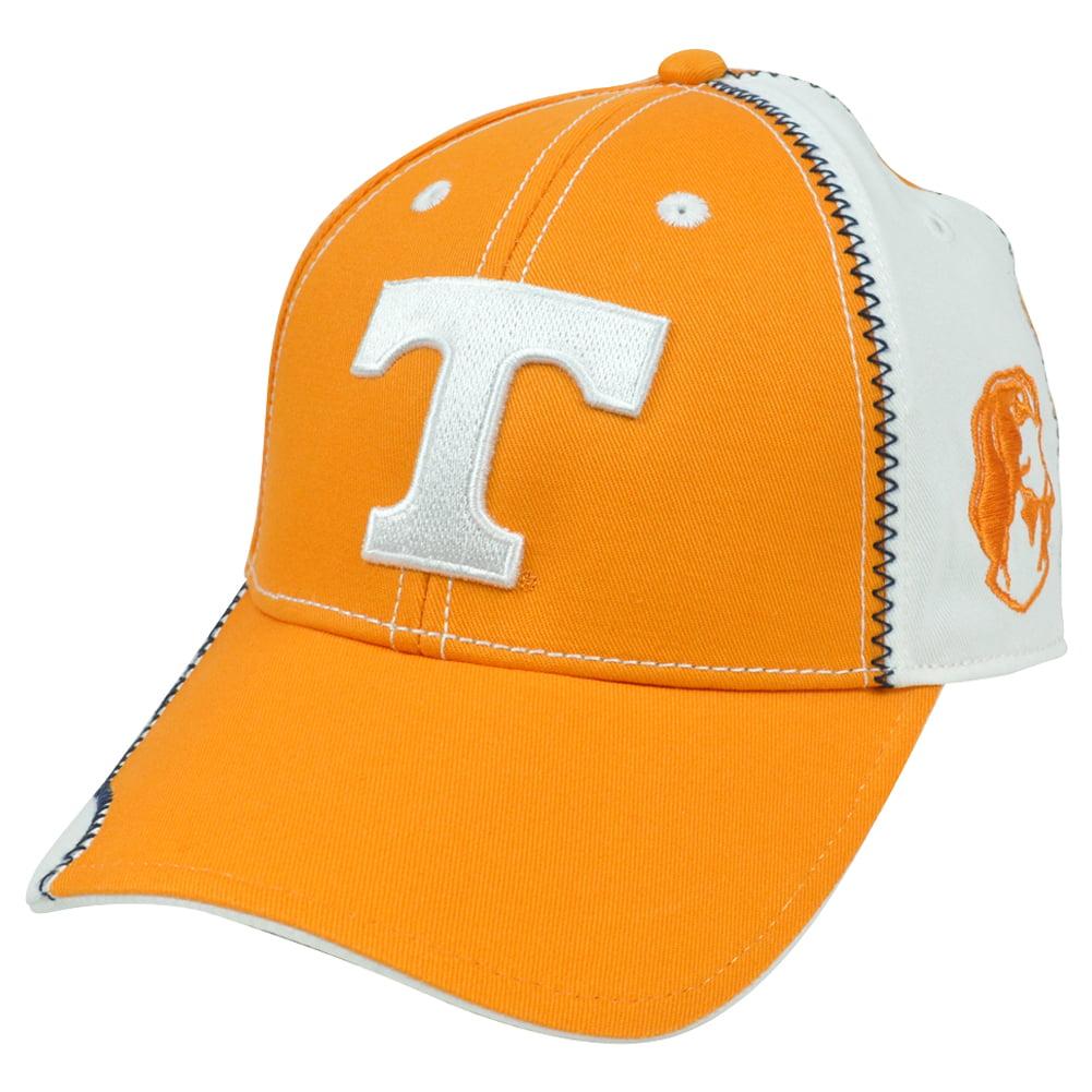 NCAA Wakeboard Unbrush Tennessee Vols Volunteers Adjustable Hat Cap Constructed by Fan Favorite