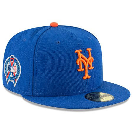 a9978130a55 New York Mets New Era 2018 9 11 Authentic Collection 59FIFTY Fitted Hat -  Royal - Walmart.com