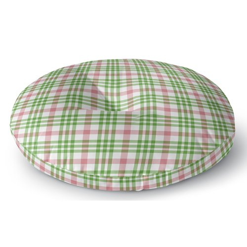Darby Home Co Pascual Plaid Indoor/Outdoor Floor Pillow