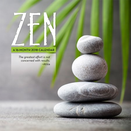 Zen 2018 Mini Wall Calendar