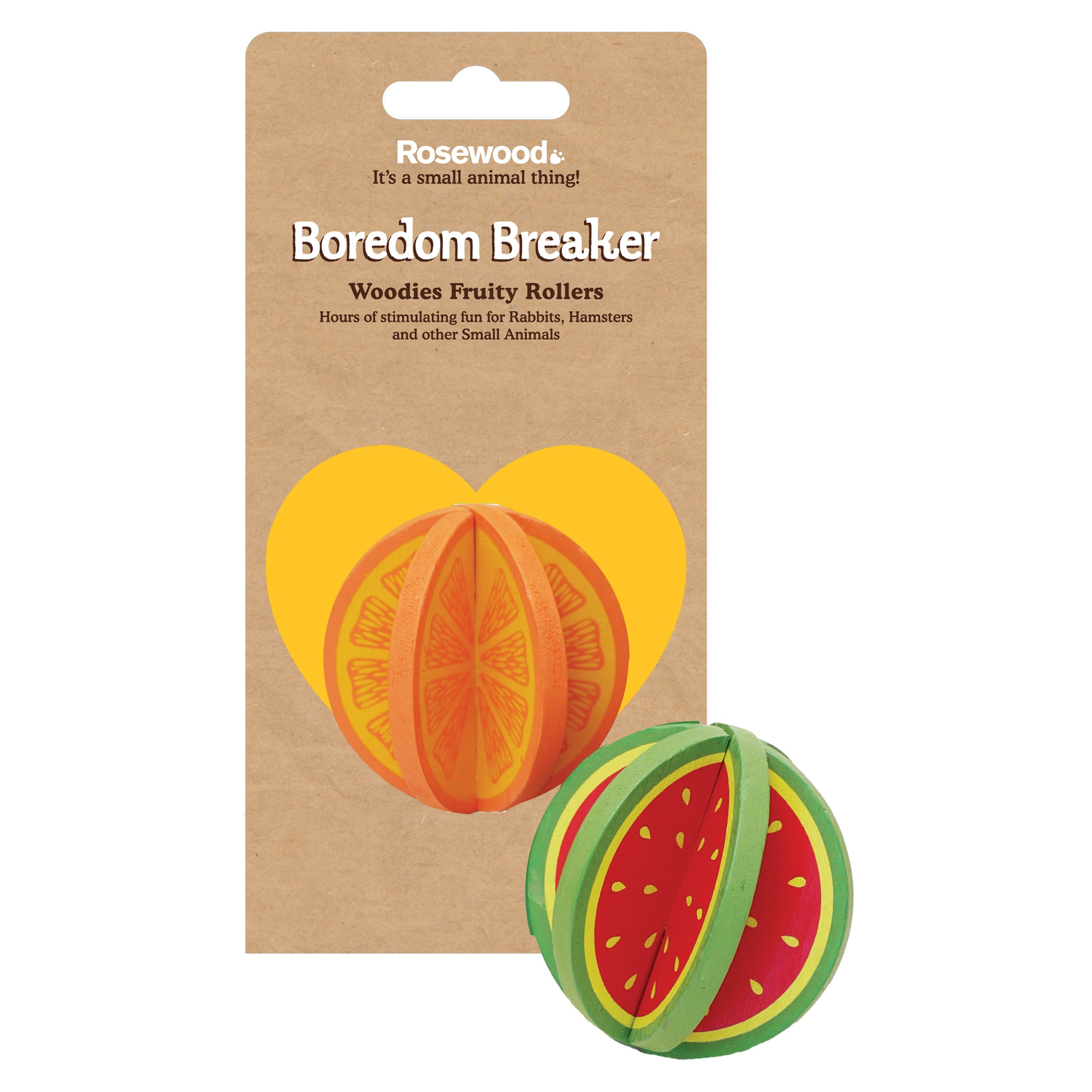Rosewood Pet Boredom Breaker Woodies Fruity Rollers Small Animal Toy  sc 1 st  Walmart & Rosewood Pet Boredom Breaker Woodies Fruity Rollers Small Animal Toy ...