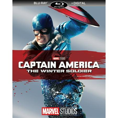 Captain America: The Winter Soldier (Blu-ray + Digital)
