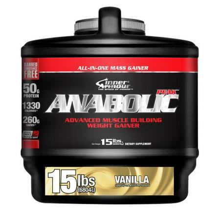 Inner Armour Anabolic crête de gain, la vanille, 15 Lb