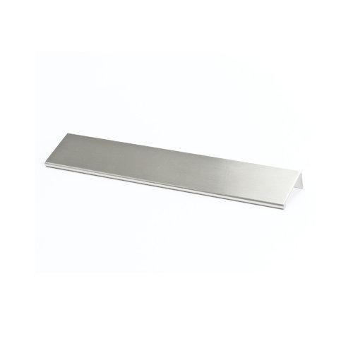 Berenson 1065-4BPN 9-inch Long Finger Pull Bravo Brushed Nickel