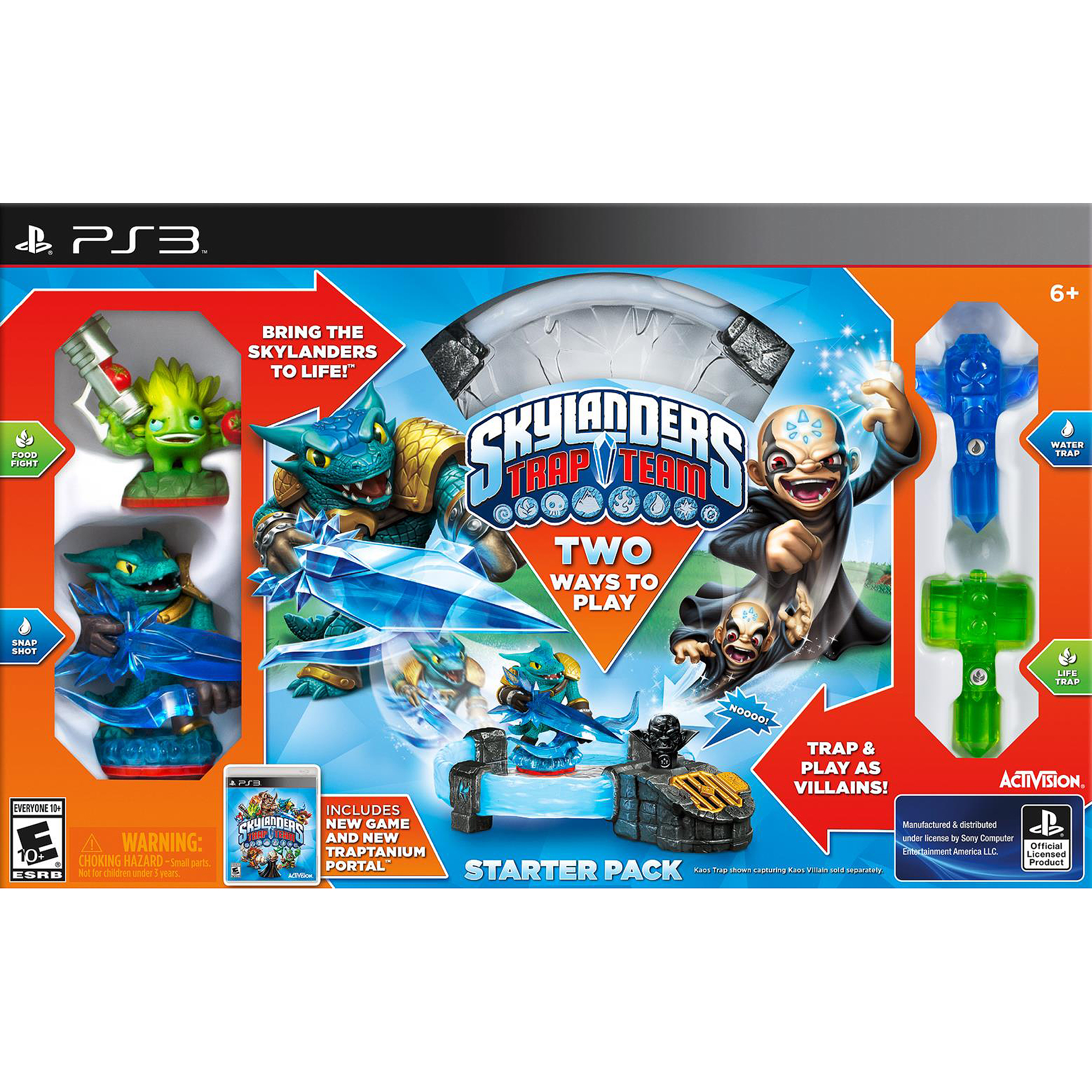 Skylanders Trap Team Starter Kit (Playstation 3) Activision by Toys For Bob