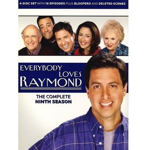 EVERYBODY LOVES RAYMOND-COMPLETE 9TH SEASON (DVD/4 DISC/WS/RE-PKGD)
