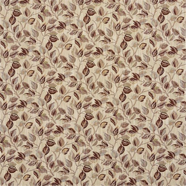 Designer Fabrics F913 54 In Wide Burgundy And Gold 44 Floral