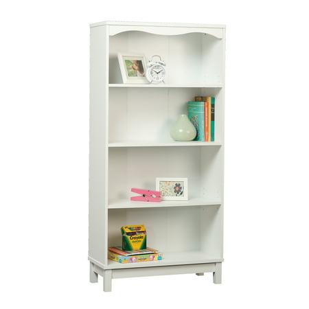 - Sauder Storybook Kids Bookcase, Soft White Finish