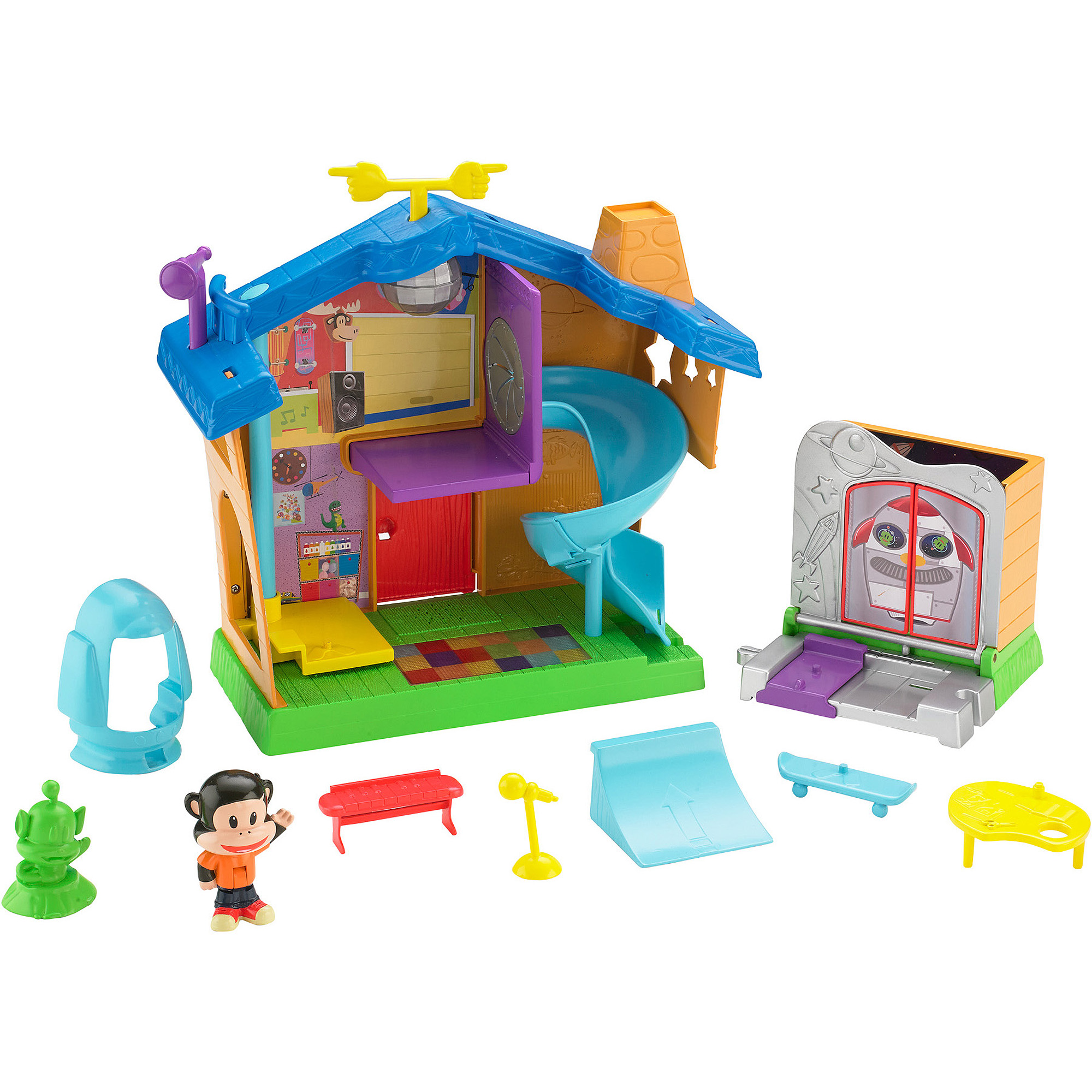 Fisher-Price Julius Jr. Playhouse Playset